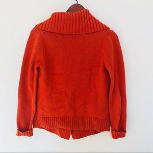 Michael Kors Sweaters Orange Cowl Neck Sweater Poshmark